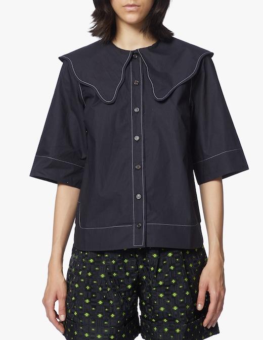 rinascente Ganni Camicia in cotone