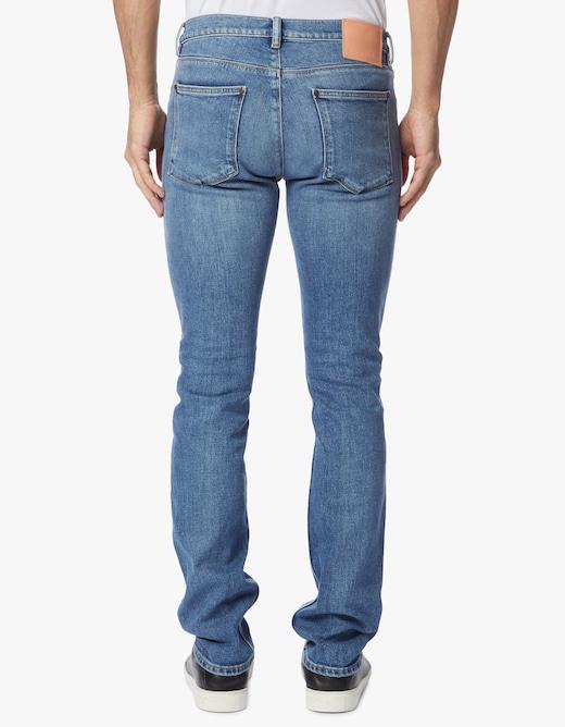 rinascente Acne Studios Jeans max mid blu