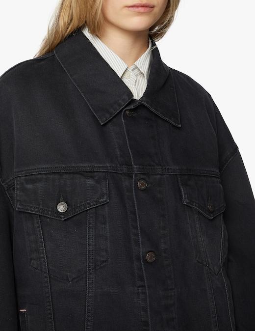 rinascente Acne Studios Giacca di jeans oversize