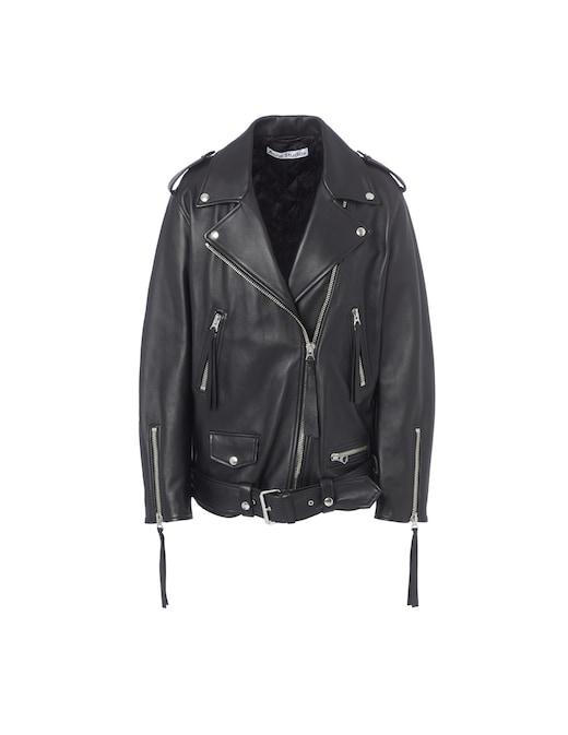 rinascente Acne Studios Leather jacket