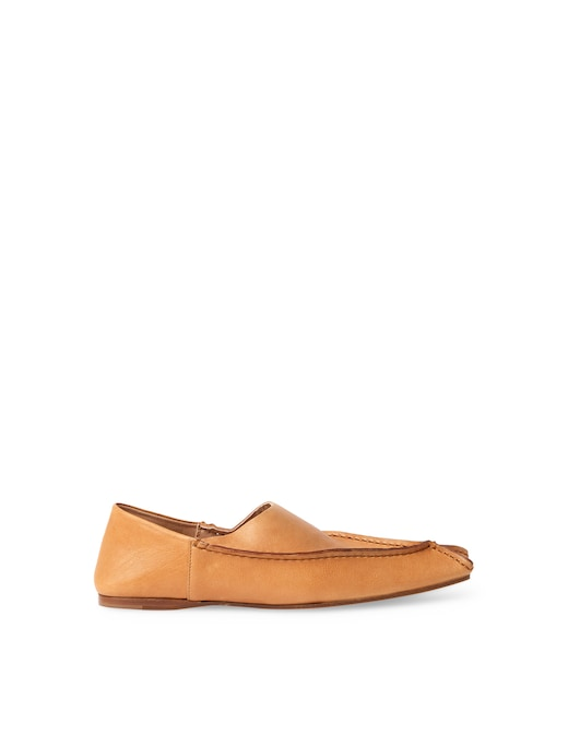 rinascente Acne Studios Leather slippers