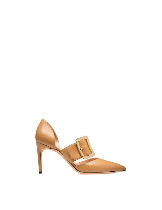 rinascente Bally Leather pumps
