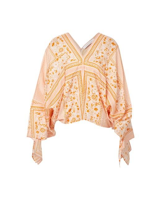 rinascente See By Chloé Kaftan silk blouse