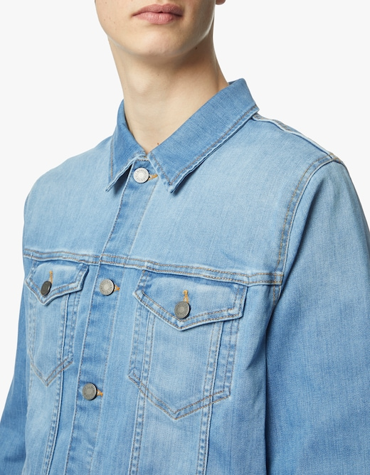 rinascente 7 For All Mankind Giacca denim perfect luxe