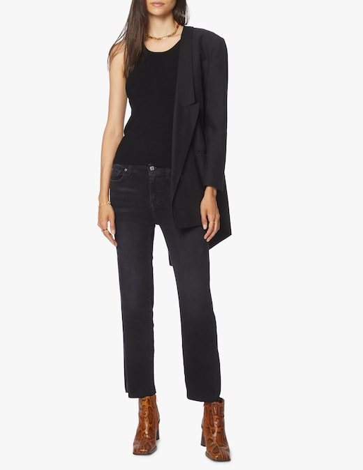 rinascente 7 For All Mankind Straight crop jeans Soho