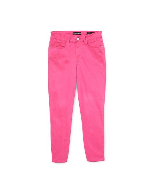 rinascente Guess Jeans Pantaloni slim-fit crop