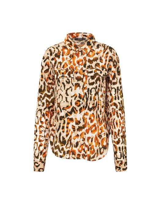 rinascente Guess Jeans Camicia con stampa animalier
