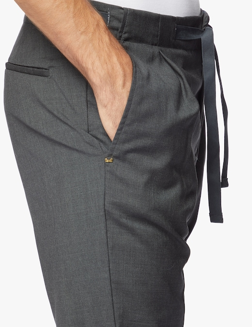 rinascente Entre Amis Wool trousers