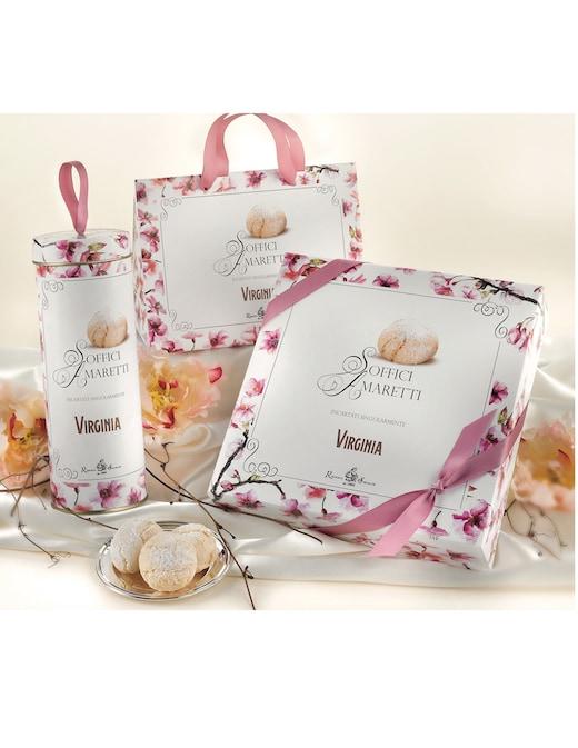 rinascente Amaretti Virginia Soft almond amaretti Classic round tin