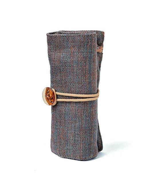rinascente Fabriano Boutique Mini linen case melange