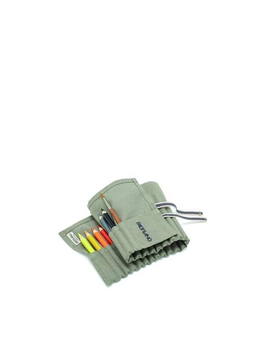 rinascente Fabriano Boutique ECO pencil case taupe