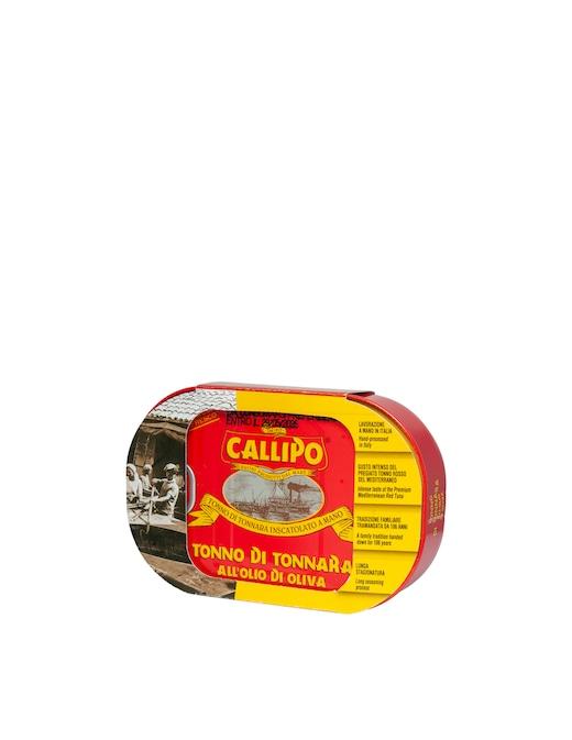 rinascente Callipo Tonno di Tonnara g. 320 Oil Box