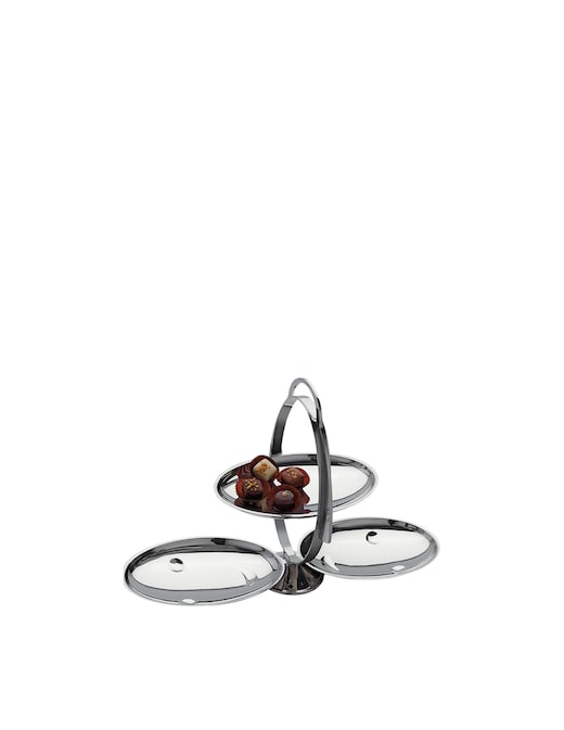 rinascente Alessi Anna Gong folding cake stand