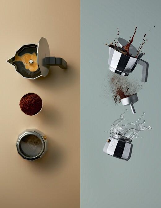 rinascente Alessi Espresso coffee maker 1 cup