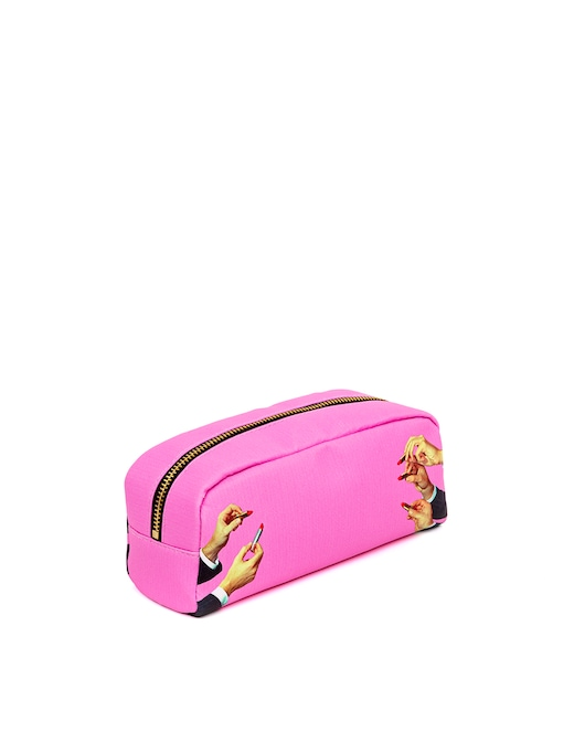 """rinascente Seletti Astuccio Stampato """"Toiletpaper"""" Lipsticks Pink"""