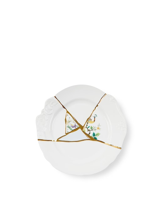 "rinascente Seletti ""Kintsugi-N'2"" Dinner Plate"