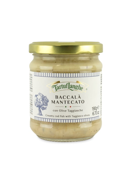 rinascente Tartuflanghe Baccala' creamed with olives