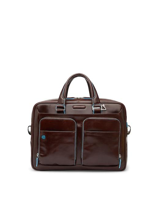 rinascente Piquadro Portfolio laptop briefcase with tablet compartment