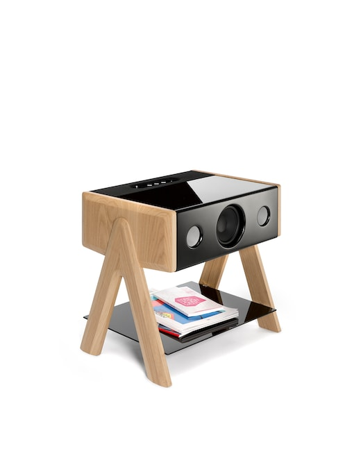 rinascente La Boite Concept Diffusore Bluetooth Cube Thruster Oak