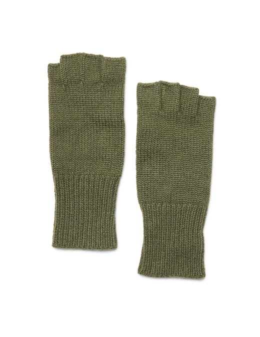 rinascente Guanti Made In Italy Cashmere half-finger gloves
