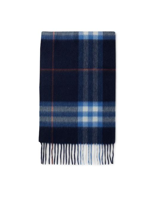 rinascente Pure Cashmere Sciarpa in cashmere check tartan