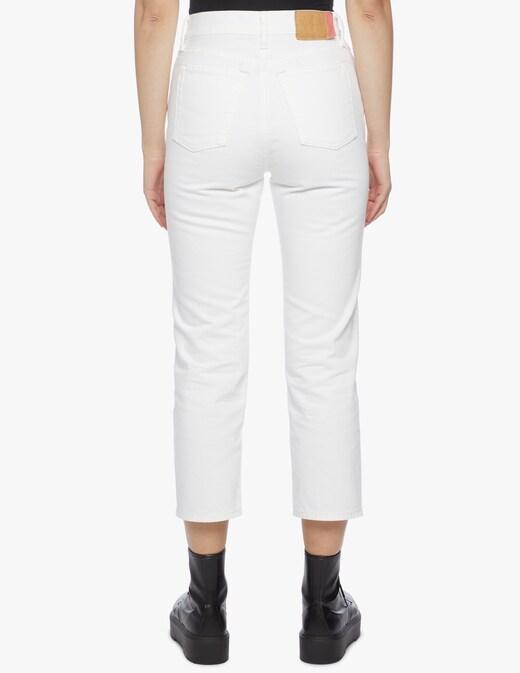 rinascente Acne Studios Jeans crop a gamba dritta