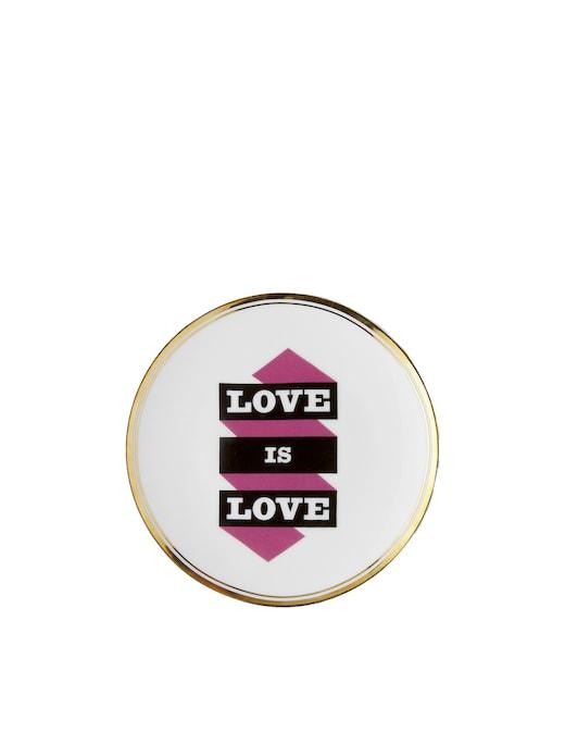 rinascente Bitossi La Tavola Scomposta -  Piatto Love is Love