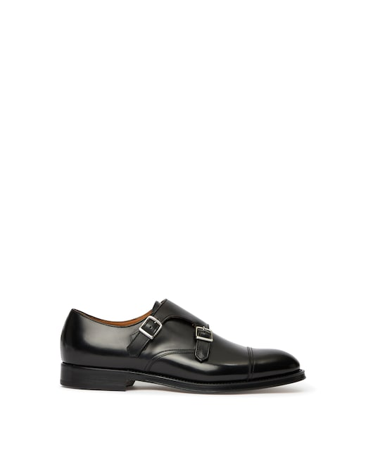 rinascente Doucal's Double buckle shoe - kitna black
