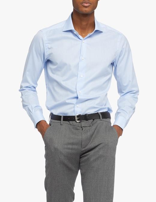 rinascente Barba Napoli Voile Slim Shirt