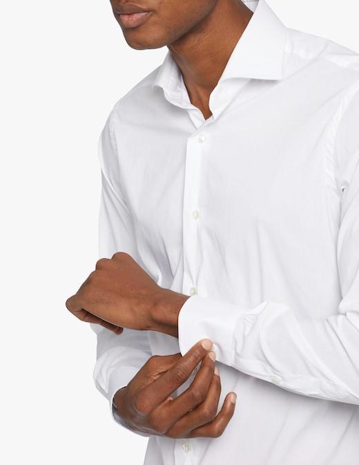 rinascente Barba Napoli Camicia Fil A Fil Slim Stretch