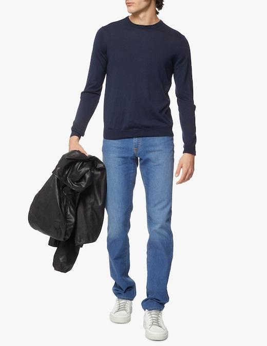 rinascente M-Wear Maglia girocollo in cotone e seta