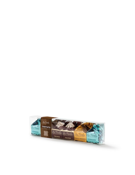 rinascente La Perla Di Torino Tiramisù Honey Ginger Pistachio Assorted Chocolate Truffles