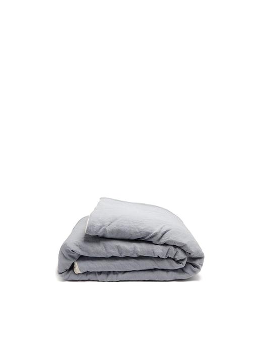 rinascente Once Milano Copriletto imbottito in lino con piping 140x220
