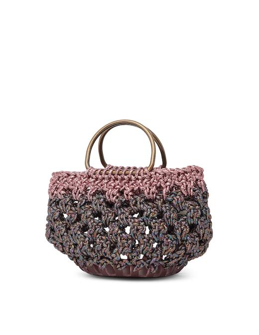 rinascente Gabriela Vlad Borsa shopper in crochet