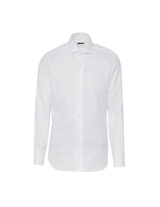 rinascente Barba Napoli Camicia Oxford Slim Tinta Unita
