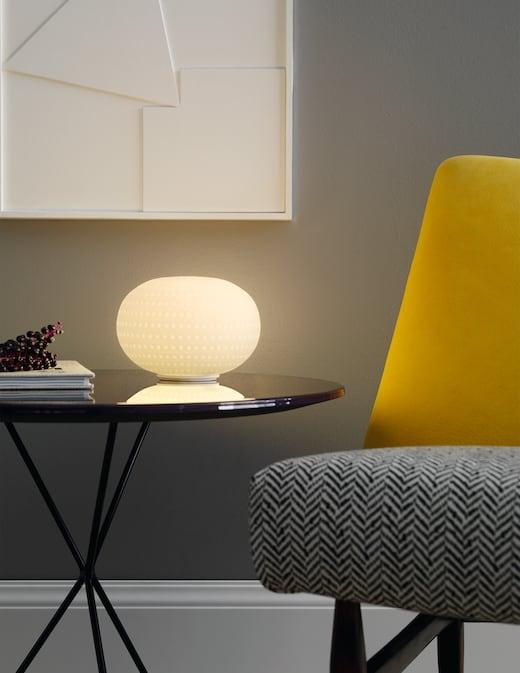 rinascente Fontana Arte  Bianca table lamp small LED