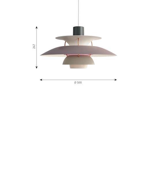 rinascente Louis Poulsen Ph 5 lampadario