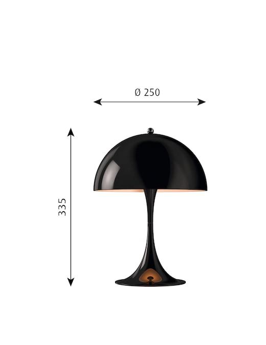 rinascente Louis Poulsen Panthella mini lampada