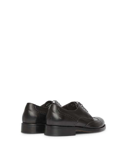 rinascente Sturlini Leather Lucky derby shoes dovetail
