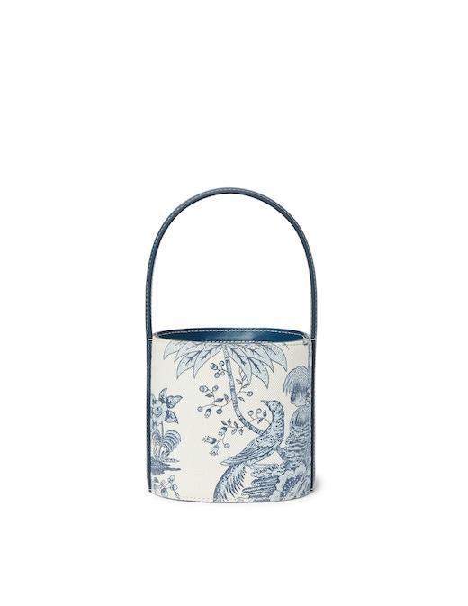 rinascente Staud Mini Bissett Canvas Bag