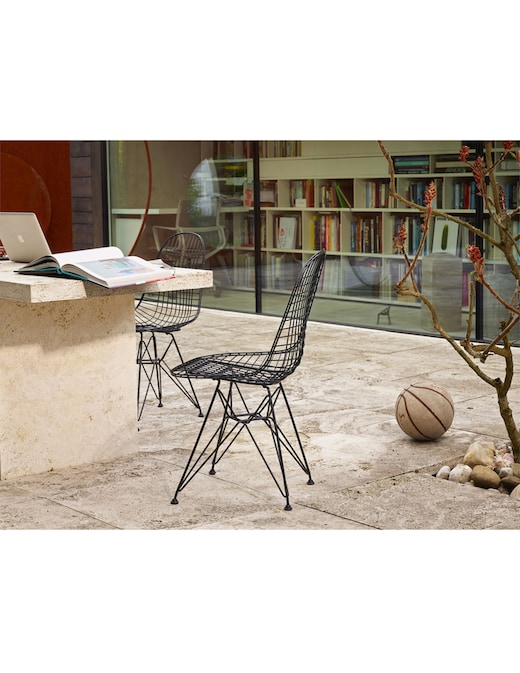 rinascente Vitra Wire Chair DKR-2