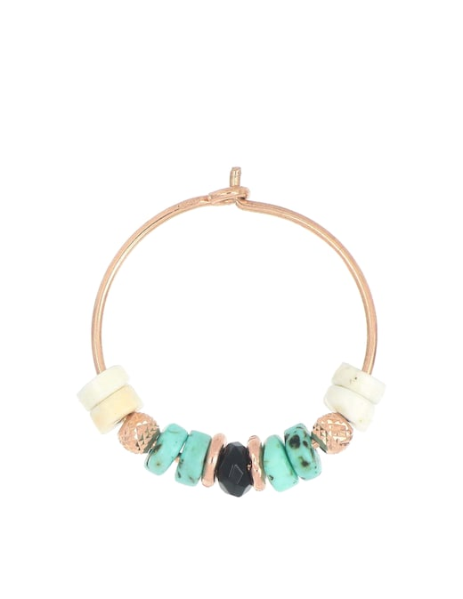 rinascente Maman et Sophie Turquoise hoop earring