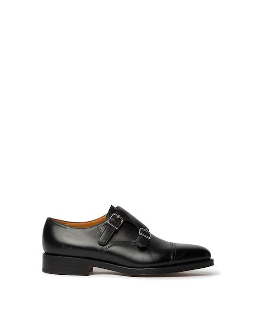 rinascente John Lobb William II double-buckle shoe