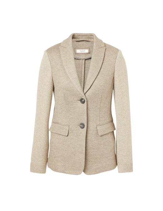 rinascente Peserico Wool blend short sleeved blazer