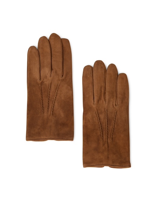 rinascente Guanti Made In Italy Leather and wool gloves