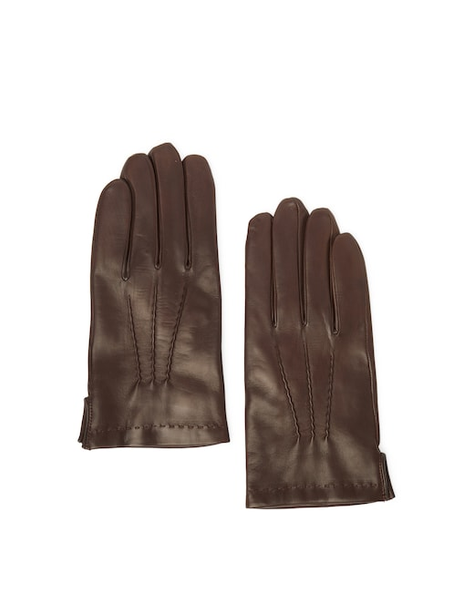 rinascente Guanti Made In Italy Leather gloves with wool padding
