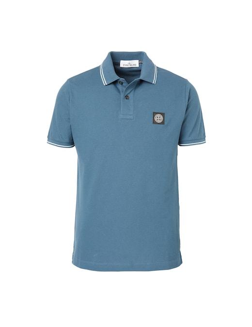rinascente Stone Island Stretch short sleeve polo shirt