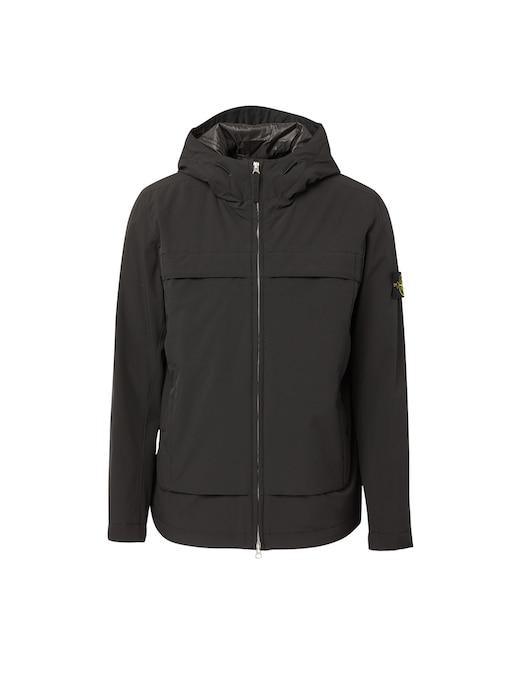 rinascente Stone Island Softshell primaloft hooded jacket