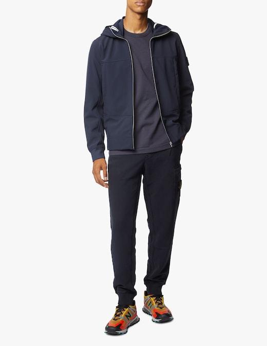 rinascente Stone Island Softshell hooded jacket