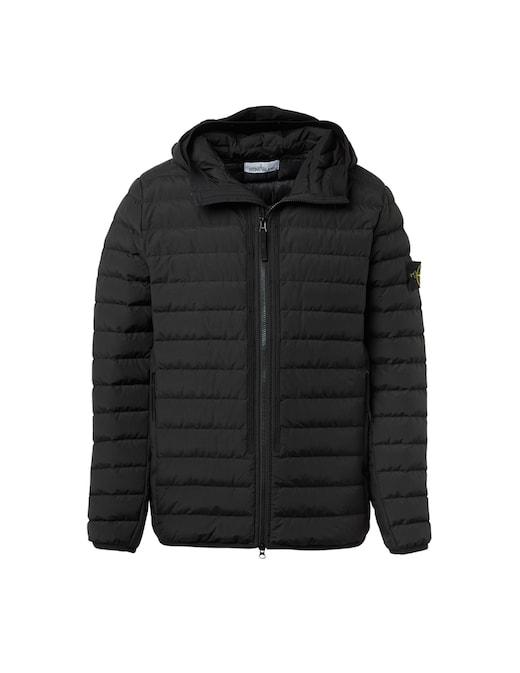 rinascente Stone Island Nylon 100 gr hooded downjacket